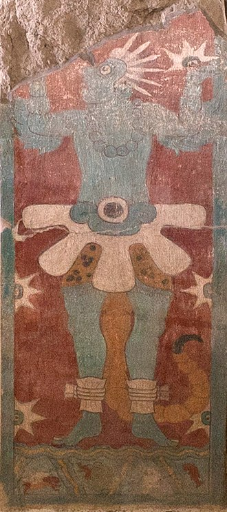 Scorpion man - Image: Mural Del Templo De Venus(right)