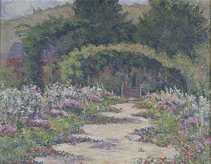 Le jardin et la maison de Claude Monet à Giverny