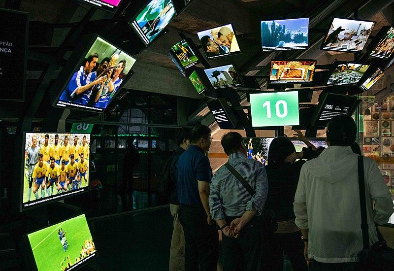 Museu do futebol em SP