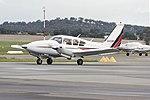 MyJet Aviation (VH-CBP) Piper PA-23-250 Aztec C taxiing at Wagga Wagga Airport.jpg