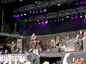 My Dying Bride - My Dying Bride playing at Tuska 2009.