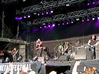 My Dying Bride - My Dying Bride playing at Tuska 2009.