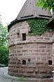 Nürnberg, Stadtmauer, Mauerturm Schwarzes B, 002.jpg