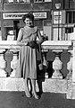 Női portré, 1954. Fortepan 22348.jpg