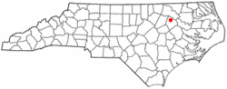 Location of Leggett, North Carolina