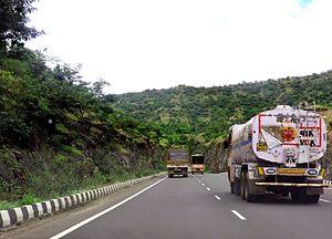 National Highway 48 (India) - NH 48 near Pune, Maharashtra.