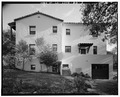 NORTHWEST SIDE - Hamilton Field, Company Officers' Quarters Type B1, Sunset Drive, Novato, Marin County, CA HABS CAL,21-NOVA,1BG-5.tif