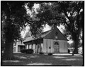 NORTH AND EAST SIDES - Church of the Holy Family, State Route 157, Cahokia, St. Clair County, IL HABS ILL,82-CAHO,1-5.tif