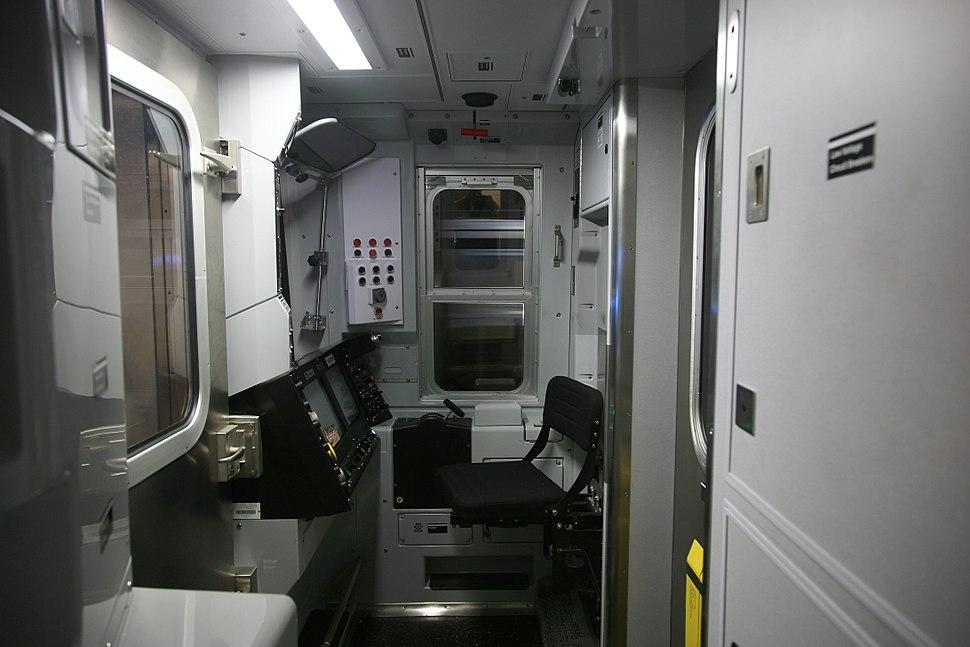 NYC N train cockpit
