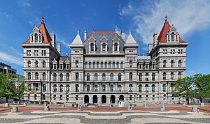 Albany, New York - The New York State Capitol