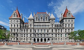 New York State Capitol - The New York State Capitol viewed from the southwest