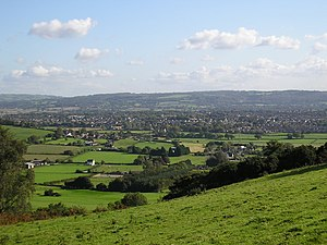 Nailsea - Nailsea seen from Cadbury Camp
