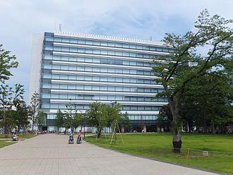 Japan Radio Company - Image: Nakano Central Park East