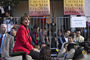 Pelosi at San Francisco's 2006 Chinese New Year Festival and Parade