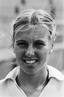Nanette Schutte Dutch tennis player