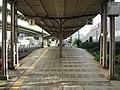 Nankai Shiomibashi Station platform - panoramio.jpg