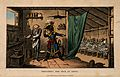 Napoleon Bonaparte instructing the doctor to poison the plag Wellcome V0010635.jpg