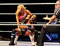 Natalya abdominal stretch on Layla (cropped).jpg