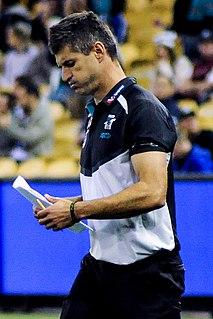Australian rules footballer and coach