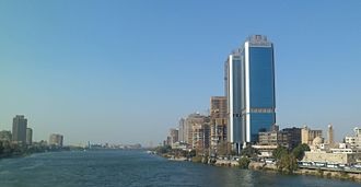 National Bank of Egypt - NBE Towers in Cairo