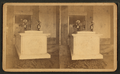 National Lincoln Monument, Springfield, Illinois. Catacomb and sarcophagus, from Robert N. Dennis collection of stereoscopic views.png