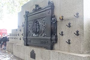 National Submarine War Memorial - Image: National Submariner's War Memorial, Victoria Embankment