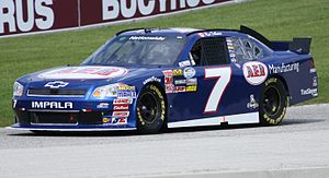 Ron Fellows - 2011 Nationwide car at Road America