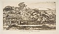 Native Barns and Huts at Akaroa, Banks Peninsula, 1845 MET DP813257.jpg