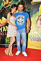 Neha Sharma, Vivek Oberoi at the Promo launch of 'Jayanta Bhai Ki Luv Story' 01.jpg
