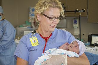 Neonatal nurse practitioner - Image: Neonatal Nurse Practitioner