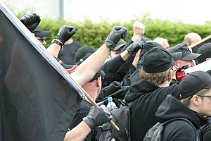 Autonome Nationalisten - Autonomous Nationalists adopted Black Bloc demonstration tactics from extreme-leftist antifascist groups