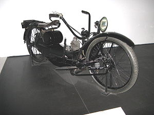 Feet forwards motorcycle - 1924 Ner-A-Car
