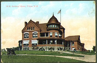 George G. Adams (architect) - Image: New hampshire soldiers home