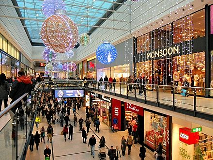 The most recent extension to the Arndale which opened in 2006. New Cannon Street Mall Manchester Arndale.jpg