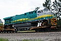 New GE locomotives transported on flat cars for export • 02.jpg