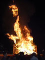 New Orleans Algiers Point Christmas Bonfire 2011.jpg