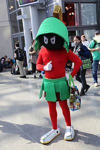 New York Comic Con 2014 - Marvin the Martian (14909519154).jpg