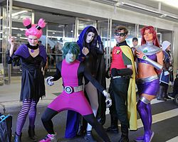 New York Comic Con 2016 - Teen Titans (30069434132).jpg