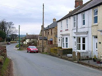 Newton-le-Willows, North Yorkshire - Image: Newton le Willows