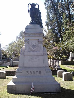 Newton Booth - Booth Gravesite