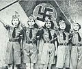 Nichigeki dancing team musical revue Heil Hitler for Hitlerjugend 1938.jpg