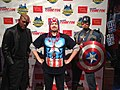 Nick Fury and Captain America in New York Comic Con 2013 (2).jpg