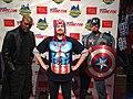 Nick Fury and Captain America in New York Comic Con 2013 (2).jpg