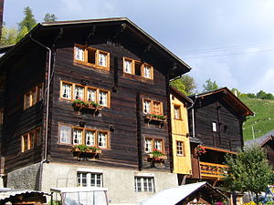 Niederwald, Switzerland - House in Niederwald
