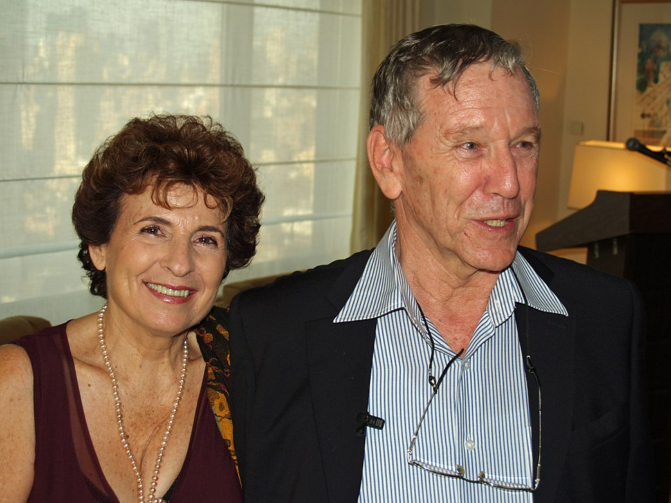 Nily Oz and Amos Oz in New York City 2008