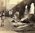 Nimtala burning ghat, Calcutta in 1945.jpg