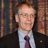 Nobel Prize laureate Lars Peter Hansen at press conference 2013 2.jpg
