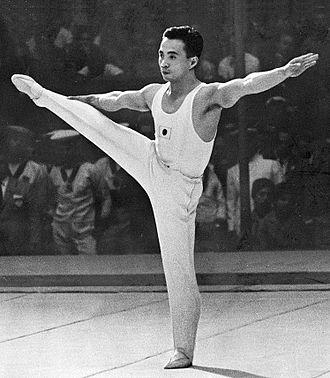 Nobuyuki Aihara - Aihara at the 1960 Olympics