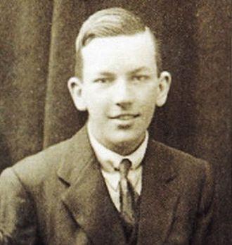 Noël Coward - Coward in his early teens