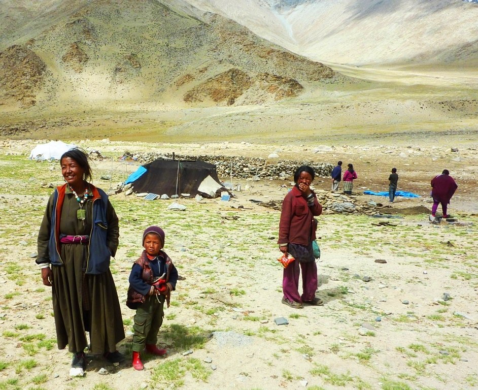Nomads on the Changtang, Ladakh